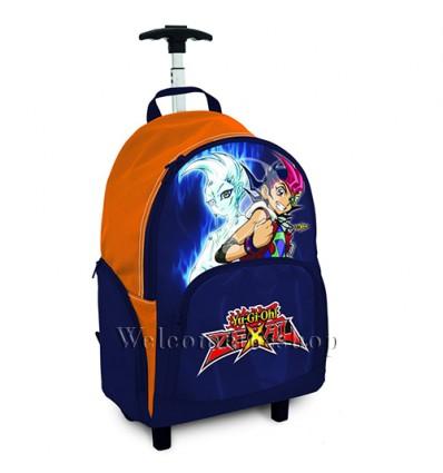 Z00007 - Zaino Trolley YuGiOh Scuola Resistente Qualita schienale imbottito