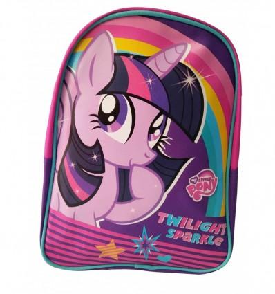 Zaino Twilight Sparkle My Little Pony Scuola Gita Viaggi Resistente Per Bambine