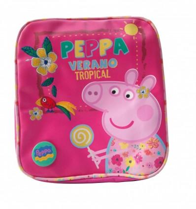 Zaino Peppa Pig Verano Tropical Scuola Gita Viaggi Resistente Per Bambini/Bambine