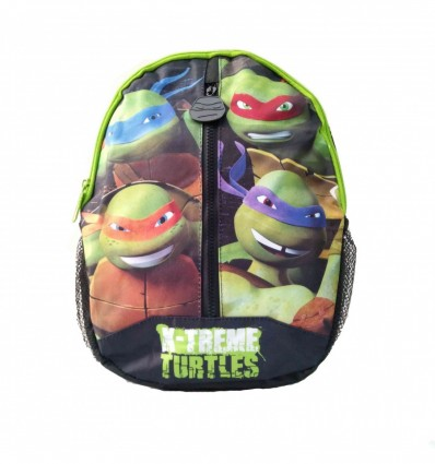 Zaino Tartarugga Ninja Turtles Scuola Asilo Gita Viaggi Resistente per Adolescenti