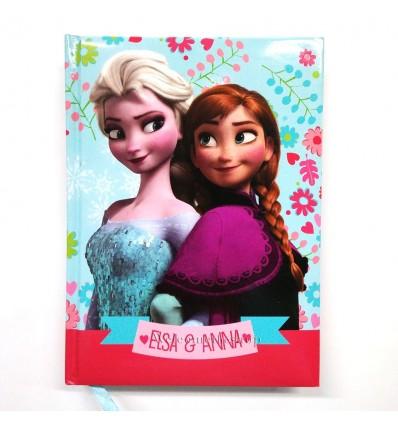 Diario Frozen Elsa e Anna Disney Per Scuola Adattabile