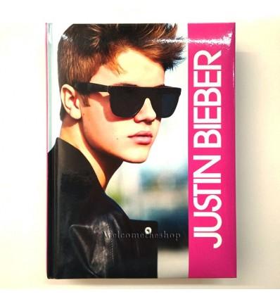 Diario Justin Bieber Formato Pocket Per Scuola Adattabile