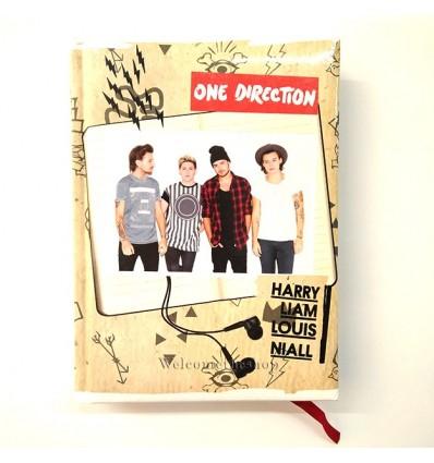 Diario One Direction Harry Liam Louis Niall Versione Pocket Per Scuola Adattabile