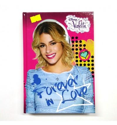 Diario Violetta Forever in Love Disney Per Scuola Adattabile