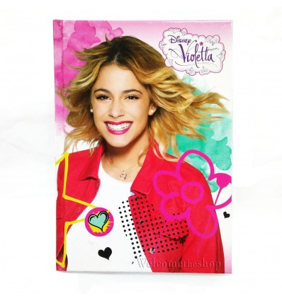 Diario Violetta Disney Per Scuola Adattabile