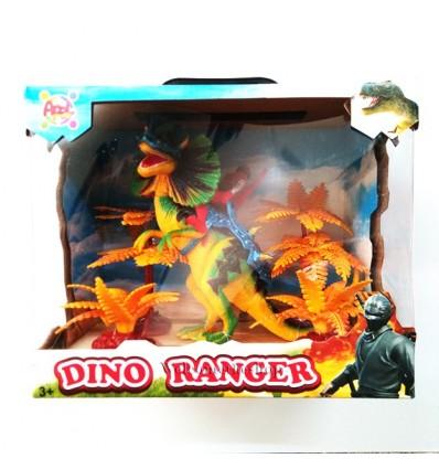 Dino Ranger Apel Plastick