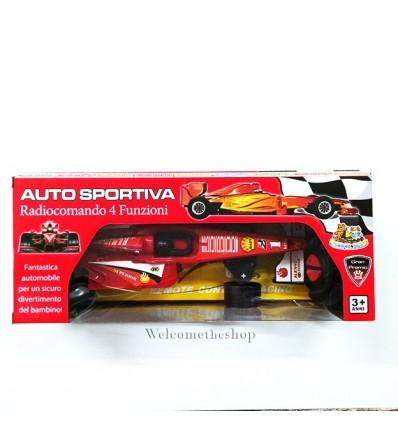 Auto Sportiva Radiocomando 4 Funzioni
