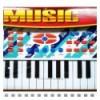Tastiera Music con Microfono Apel Plastick
