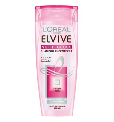 L'Oreal Paris Elvive Nutri-Gloss Shampoo Nutriente Illuminante ML 250