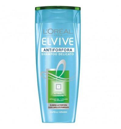 L'Oreal Paris Elvive Antiforfora Shampoo Delicato Capelli Grassi ML 250