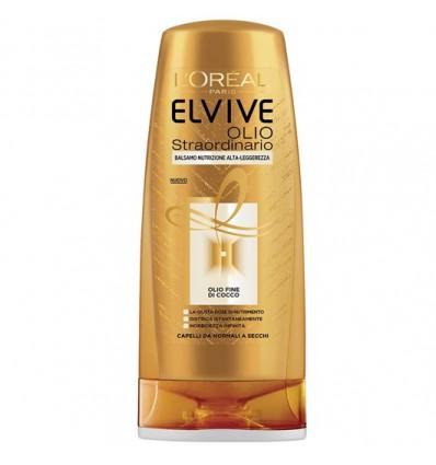 L'Oréal Paris Elvive Olio Straordinario Balsamo Olio Fine Di Cocco Nutriente per capelli da Normali a Secchi ML 200