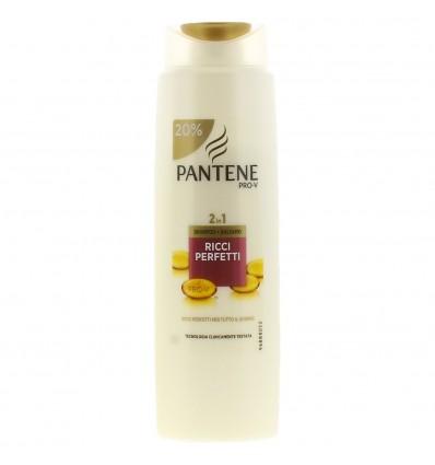 Pantene Pro-V 2in1 Shampoo + Balsamo Ricci Perfetti ML 300