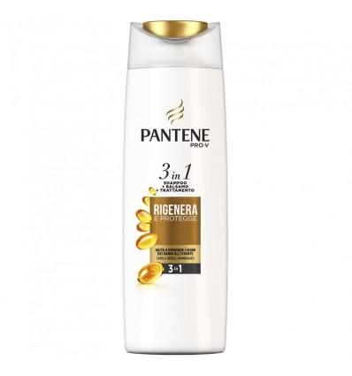 Pantene Pro-V 3in1 Shampoo + Balsamo + Trattamento Rigenera & Protegge ML 225