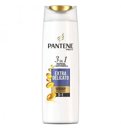 Pantene Pro-V 3in1 Shampoo + Balsamo + Trattamento Extra Delicato ML 225