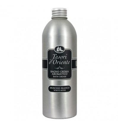 Tesori d'Oriente Bagno Crema Aromatico Muschio Bianco ML 500
