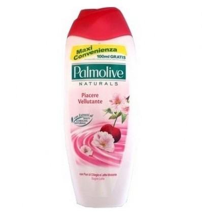 Palmolive Bagno Latte Piacere Vellutante con Fiori di Ciliegio e Latte Idratante ML 750