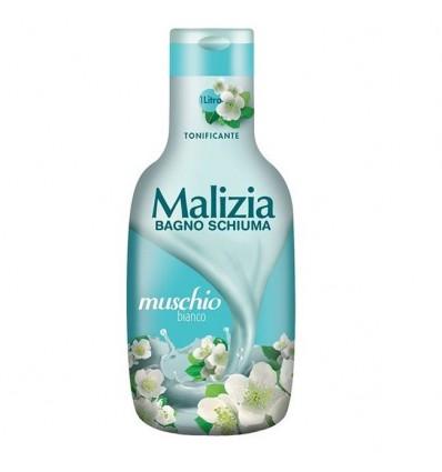 Malizia Bagnoschiuma Tonificante con Muschio Bianco ML 1000