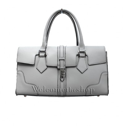 Ap00005 - Genuine Leather HandBag - shoulder strap - Made in Italy - Quality Design - Fashion Mood- Casual Personality