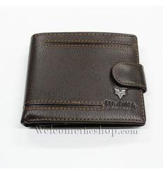 afdc3b102e B00007 - Portafogli Uomo Huawan vera pelle morbido con clip wallet bifold  ...