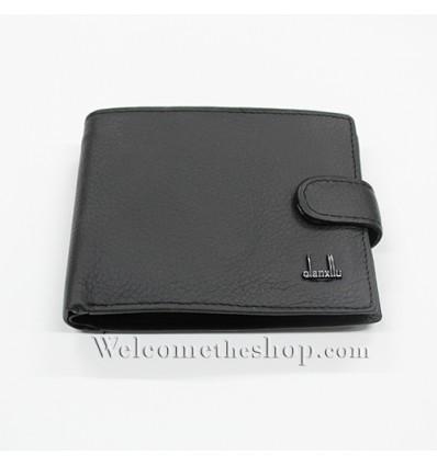 B00010 - Portafogli Uomo Qianxilu vera pelle morbido con clip wallet bifold