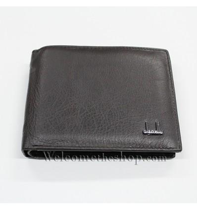 B00011 - Portafogli Uomo Qianxilu vera pelle morbido con clip wallet bifold