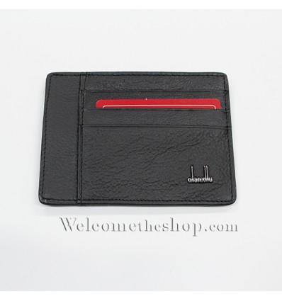 B00012 - Portafogli Uomo Qianxilu vera pelle morbido per carte di credito