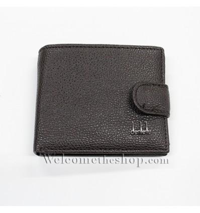 B00014 - Portafogli Uomo Denleilu vera pelle morbido con clip wallet bifold