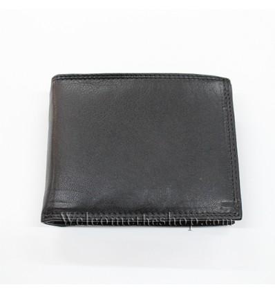 B00019 - Portafogli Uomo Fuerdanni vera pelle morbido con clip wallet bifold
