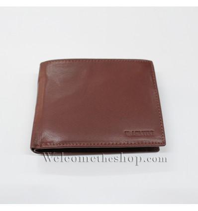 B00021 - Portafogli Uomo Valentini vera pelle morbido con clip wallet bifold
