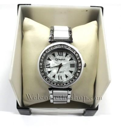 W00036 - Orologio da polso donna Qiwatch ceramico plastico - Quarzo Elegante