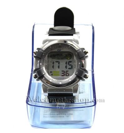 W00046 - Orologio da polso digitale CQ crono allarme - Quarzo Impermeabile
